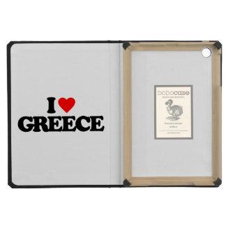 I LOVE GREECE iPad MINI CASES