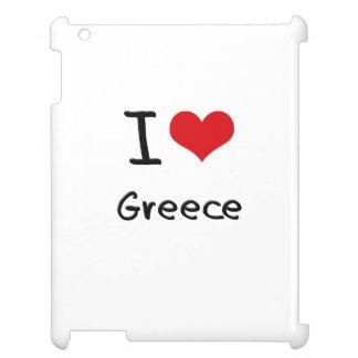 I Love Greece iPad Cover