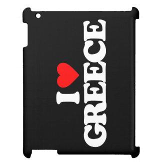 I LOVE GREECE iPad CASES