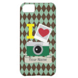 I love green camera iPhone 5C cases