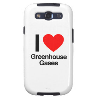 i love greenhouse gases samsung galaxy s3 cover