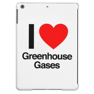 i love greenhouse gases cover for iPad air
