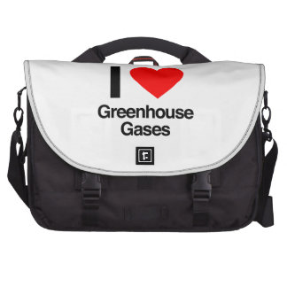 i love greenhouse gases laptop bags