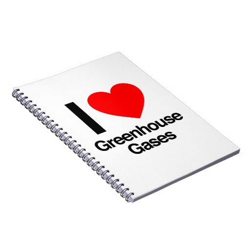 i love greenhouse gases notebooks