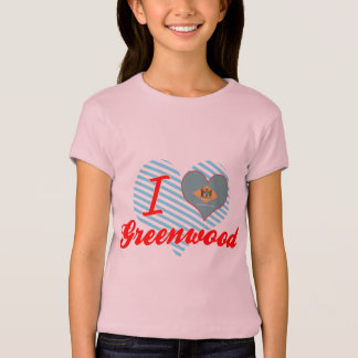 I Love Greenwood, Delaware T-Shirt