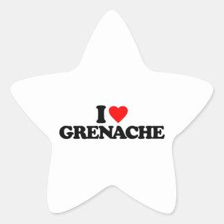 I LOVE GRENACHE STICKER