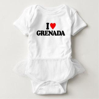 I LOVE GRENADA BABY BODYSUIT