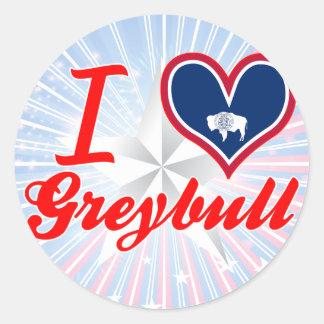 I Love Greybull, Wyoming Stickers