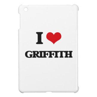 I Love Griffith iPad Mini Cases