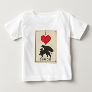 I Love Griffons Baby T-Shirt