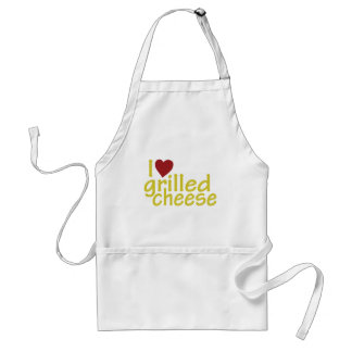 I Love Grilled Cheese Standard Apron