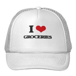 I love Groceries Hat