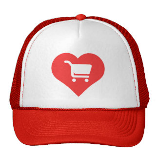I Love Grocery Shopping Design Cap