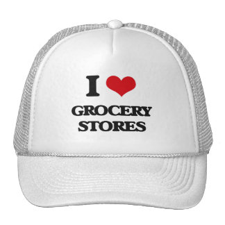 I love Grocery Stores Mesh Hat