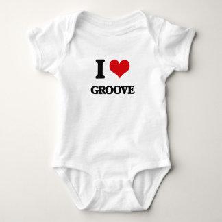 I love Groove Baby Bodysuit