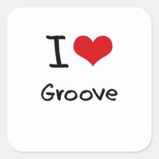 I Love Groove Sticker