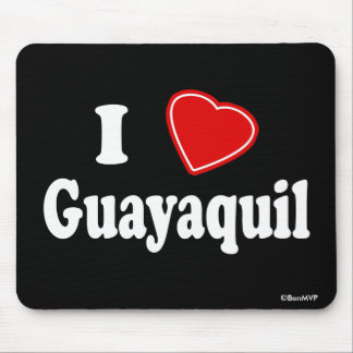 I Love Guayaquil Mouse Pad