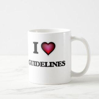 I love Guidelines Coffee Mug