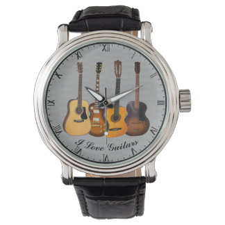 I LOVE GUITARS WATCH