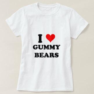 I Love Gummy Bears Tee Shirt