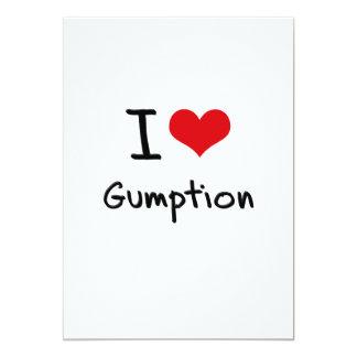 I Love Gumption Custom Announcement