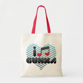 I Love Gunka Bags