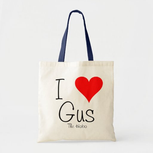 I love Gus The Hobo tote bag