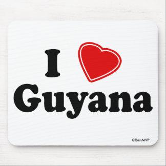 I Love Guyana Mousepad