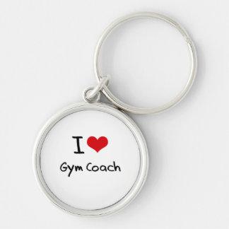 I Love Gym Coach Key Chain
