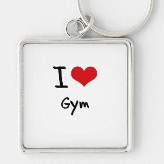 I Love Gym Key Chain