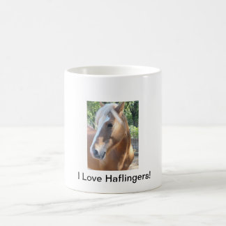 I Love Haflingers mug