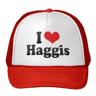 I Love Haggis Cap