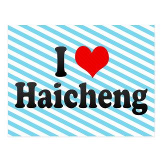 I Love Haicheng, China. Wo Ai Haicheng, China Postcard
