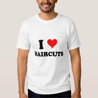 I Love Haircuts Tee Shirts