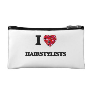 I Love Hairstylists Makeup Bags