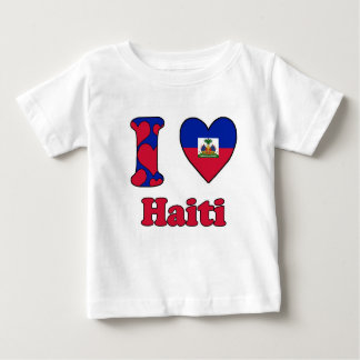 I love Haiti Baby T-Shirt