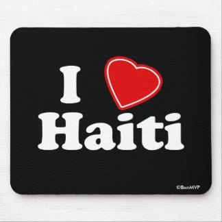 I Love Haiti Mouse Pad