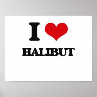 I love Halibut Print