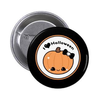 I Love Halloween 6 Cm Round Badge