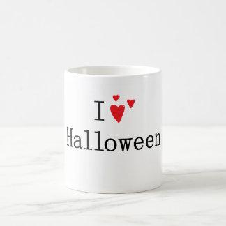I Love Halloween Basic White Mug