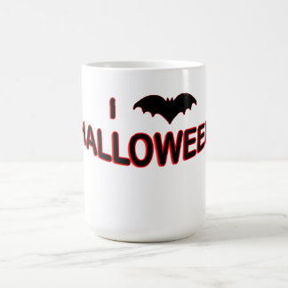 I Love Halloween (BAT) Magic Mug