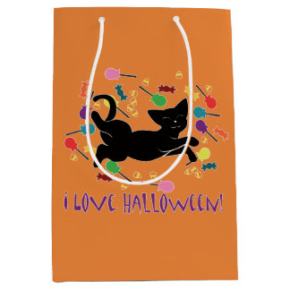 I Love Halloween! Medium Gift Bag