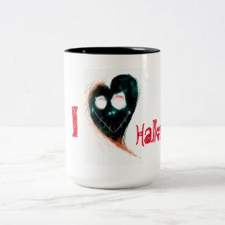 I love Halloween Two-Tone Mug