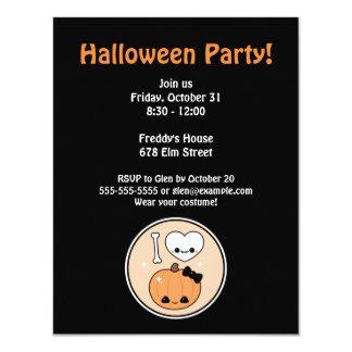 I Love Halloween Party 11 Cm X 14 Cm Invitation Card