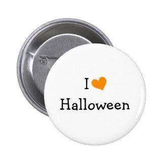 I Love Halloween Pin
