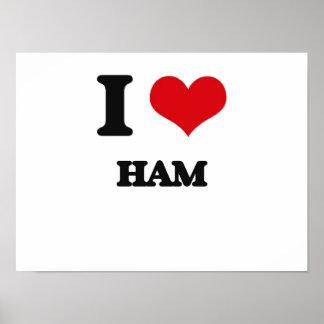 I love Ham Print