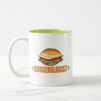 I Love Hamburgers Two-Tone Coffee Mug