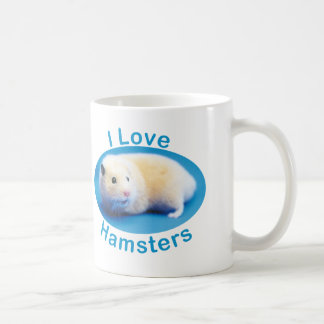 I Love Hamsters 325 ml Classic Mug