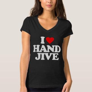 I LOVE HAND JIVE TEES