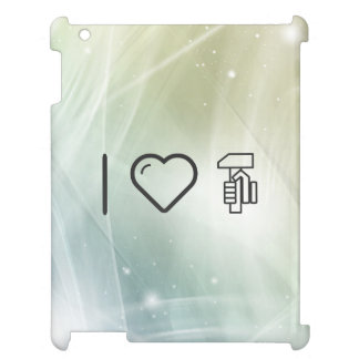 I Love Hand Rulers Case For The iPad